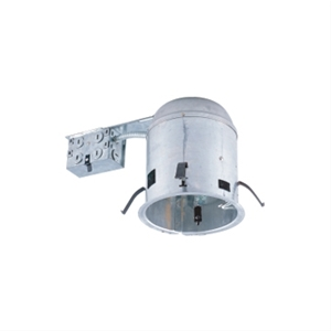 "Jesco RS6000RICA Line Voltage 6"" IC Airtight Housing for Remodeling"