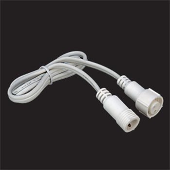 NFL-614 Nora Duralight 2' Extension with Male/Female Connector- 3Wire Line Voltage