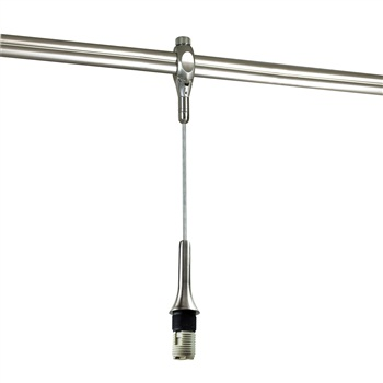 NRS19-450 Rail Mounted Line Voltage Pendant Cord with G9 Base