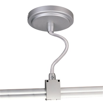 NRS90-P90 Round Power Canopy with Center-Exit Connector to Rail
