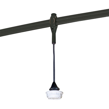 "NRS48-468  8'-6"" Rail Mounted Compact Fluorescent Pendant Cord with GU24 Base"