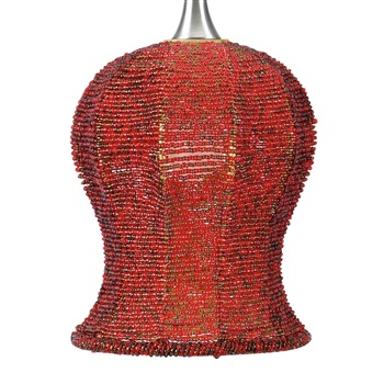 Nora NRS70-607 Bell Angoor Beaded Shade for Pendant