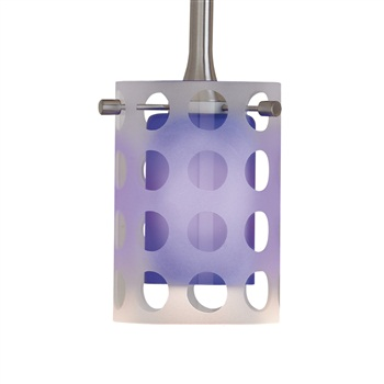 Nora NRS80-402  Dual Spot Effect Glass Shade for Pendant