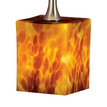 Nora NRS80-467   BONITA CUBE GLASS SHADE for Pendant