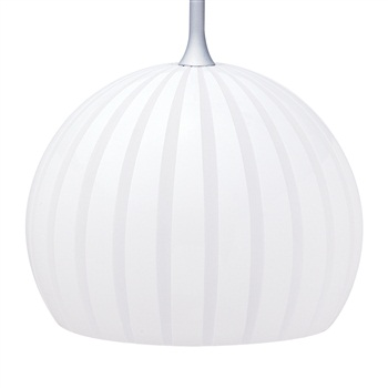 Nora NRS80-477  BOLLA  WHITE GLASS SHADE for Pendant