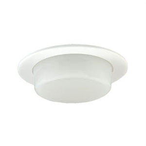 Jesco TM210 Dropped Shower Trim with Opal Glass