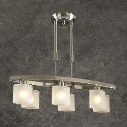 PLC WYNDHAM 649-SN PENDANT LIGHT