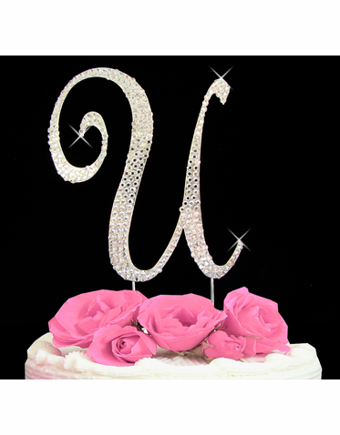 Letter Cake Topper Cake Initial Toppers U