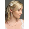 Mother of Pearl Flower Petal Hairpin IPN002
