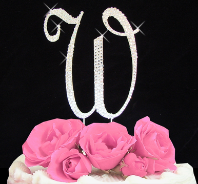 Letter Cake Topper Cake Initial Toppers W