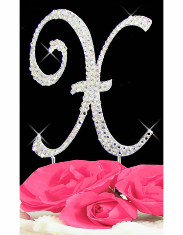 Letter Cake Topper Cake Initial Toppers X