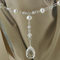 Freshwater Pearl and Crystal Y Necklace and Earring Set