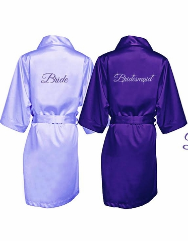 Glitter Bride Robe - Bridesmaids Robes