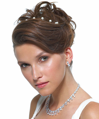 CLEARANCE: Twist in Hair Pearls - Bridal Hair Accessories