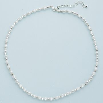 Czech Glass Pearl Necklace