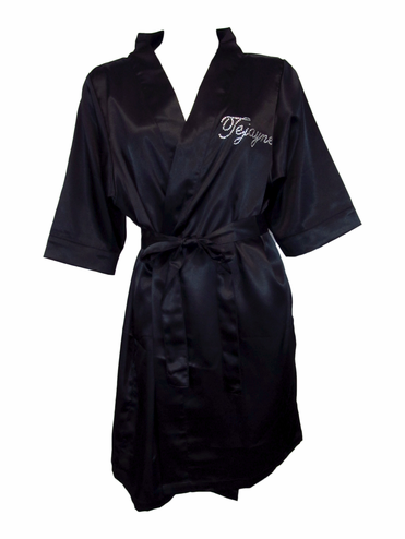 Personalized Bridesmaid Robe - Name on Front