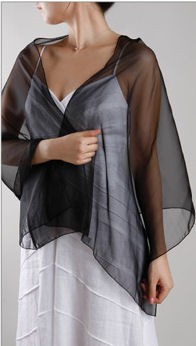 Chiffon Evening Wrap - in 30 Colors! - Organza Shawl