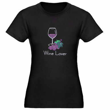 Rhinestone Wine Lover Shirt