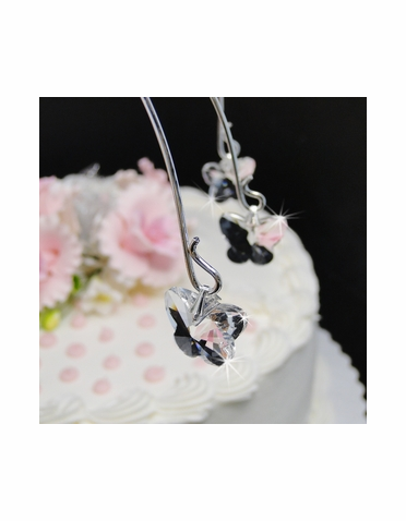 Crystal Butterfly Cake Drops - Cake Topper