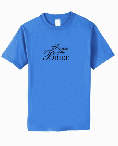 Custom Father of the Bride Shirt