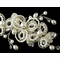 Vintage Inspired Faux and Freshwater Pearl Hair Comb