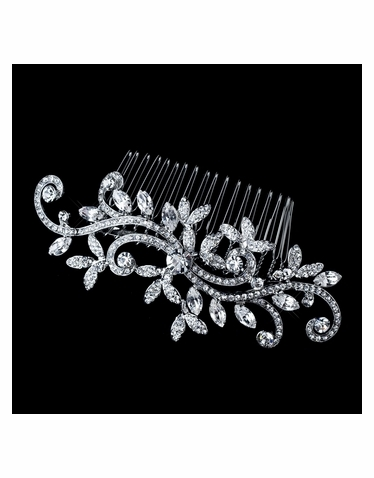 Vintage Style Bridal Comb