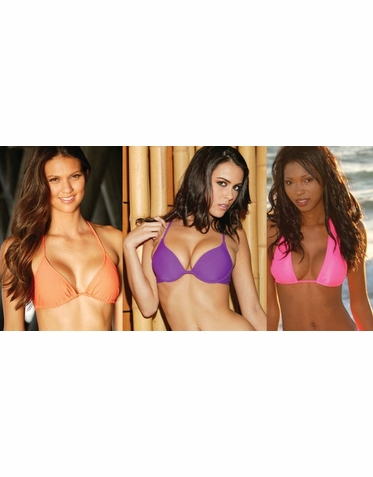 Bikini Top in 12 Colors and Various Styles
