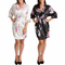 Floral Print Bridal Party Robes