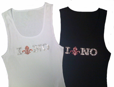 I Love NOLA T-Shirt or Tank Top - I Love New Orleans T-Shirt or Tank