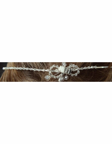Adorable Rhinestone Wedding Hair Accessory 7026