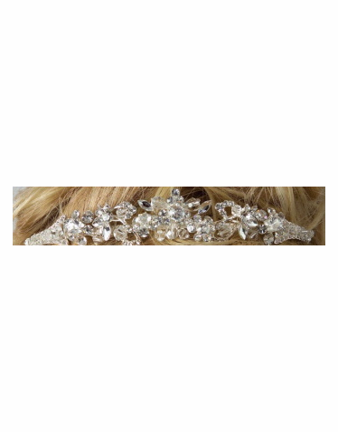 Marquis Rhinestone and Crystal Teardrop Band 6000
