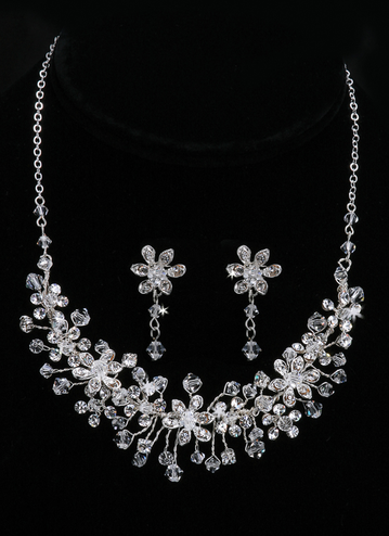 En Vogue Bridal Necklace & Earring Set NL704