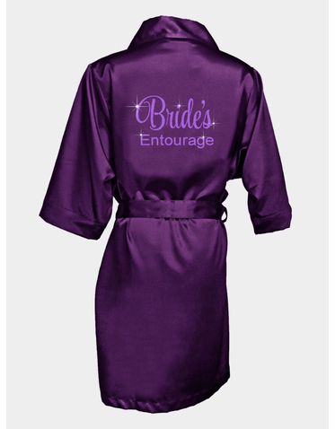 Bridal Entourage Glitter Robe