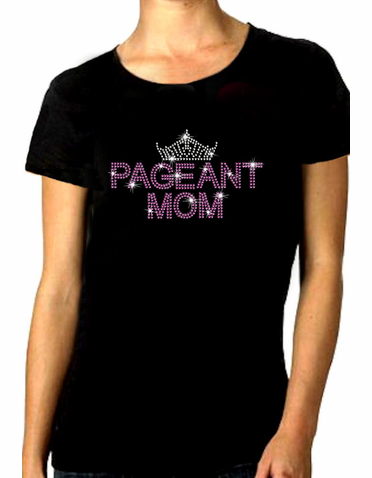 Pageant Mom Bling Tiara Tank or Tee