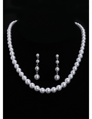 En Vogue Bridal Necklace & Earring Set NL5150