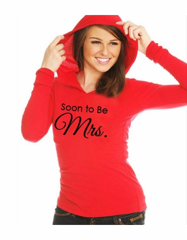 Soon To Be Mrs. Pullover Hoodie - 8 Colors!