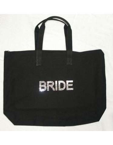 Crystal Brilliant BRIDE Tote Bag - Other Titles Available!
