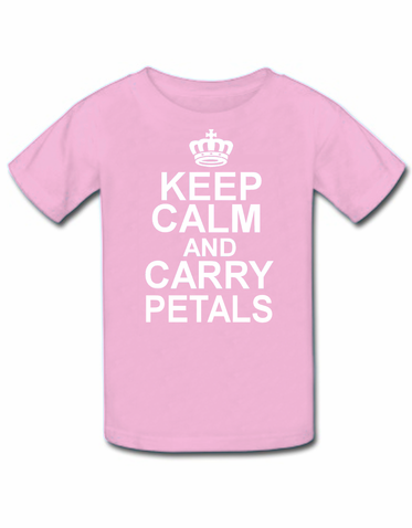 Keep Calm Flower Girl T-Shirt