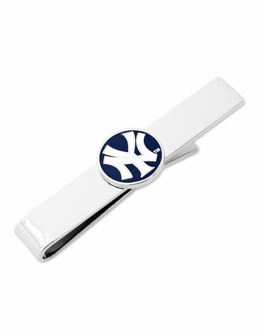 NY Yankees Stripe Officially Licensed Tie Bar