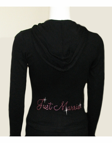 Custom Rhinestone Lightweight Hoodie and Optional Capri Pants