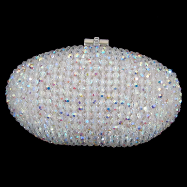 CLEARANCE: Sondra Roberts AB Crystal Clutch Handbag - Last One!