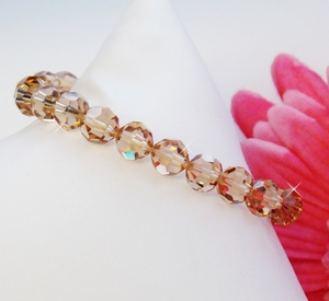 Light Colorado Crystal Bracelet