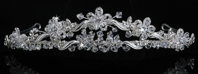 En Vogue Bridal Crystal Tiara 822