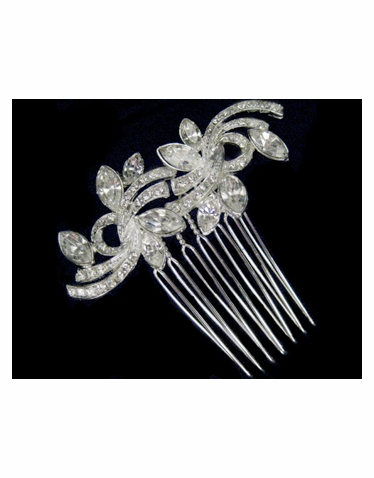 Crystal Hair Comb-2299