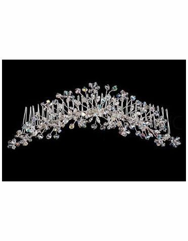 Jessica McClintock Crystal Spray Headpiece JH006