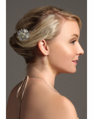 Filigree Floral Wedding Hairpin IPN001
