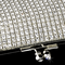 CLEARANCE: Elegant Crystal Long Clutch Handbag - East to West Clutch Bag