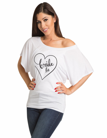 Bride to Be Flowy Dolman T Shirt