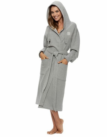 Hooded Soft Sweat Style Bridal Party Robe