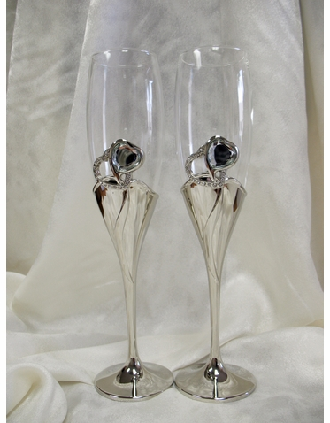 Bella Wedding Toasting Flutes